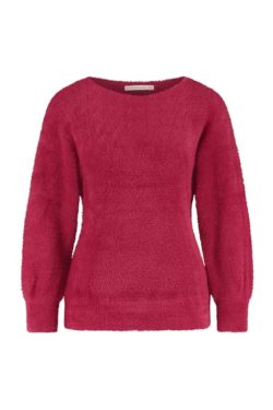 Truien-Studio anneloes-06084 Hind hairy pullover--Rood