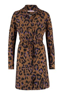 Blouses-Studio anneloes-06140 Woopsy animal tunic--Bruin